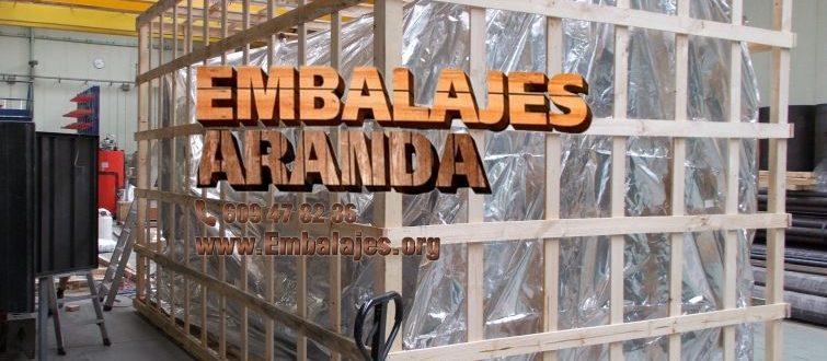 Embalaje industrial Humanes de Madrid