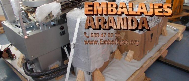 Embalaje industrial Íllora Granada