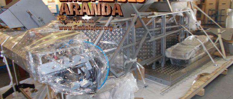 Embalaje industrial Ingenio Las Palmas