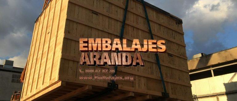 Embalaje industrial Islas Canarias