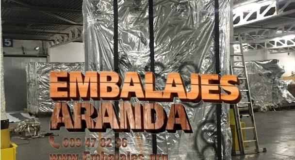 Embalaje industrial Jumilla Murcia