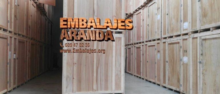 Embalaje industrial L'Ametlla de Mar Tarragona