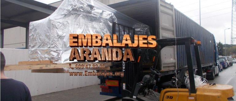 Embalaje industrial La Carolina Jaén