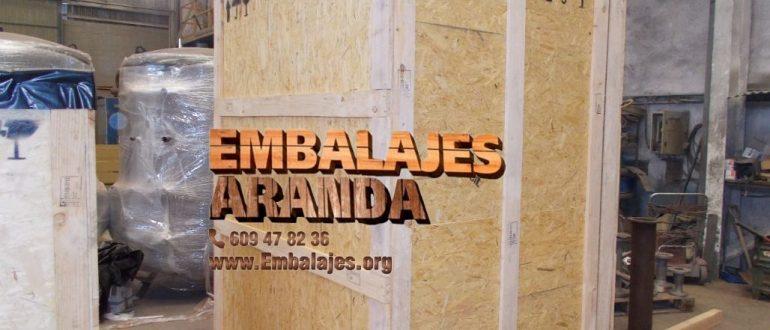 Embalaje industrial La Lastrilla Segovia