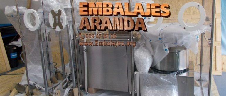 Embalaje industrial La Palma del Condado Huelva