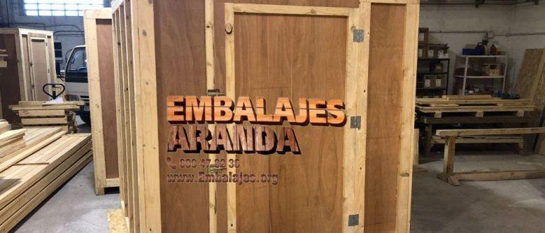 Embalaje industrial La Puebla de Alfindén Zaragoza