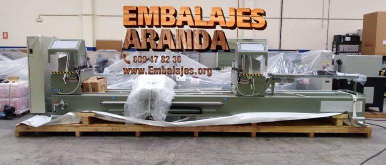 Embalaje industrial La Vall d'Uixó