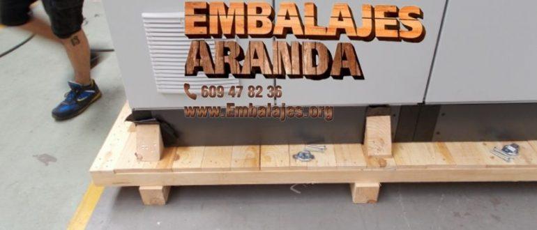 Embalaje industrial La Zubia Granada