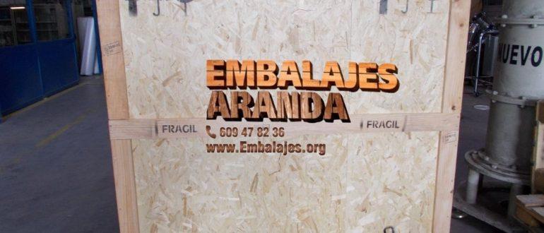 Embalaje industrial Laguna de Duero Valladolid