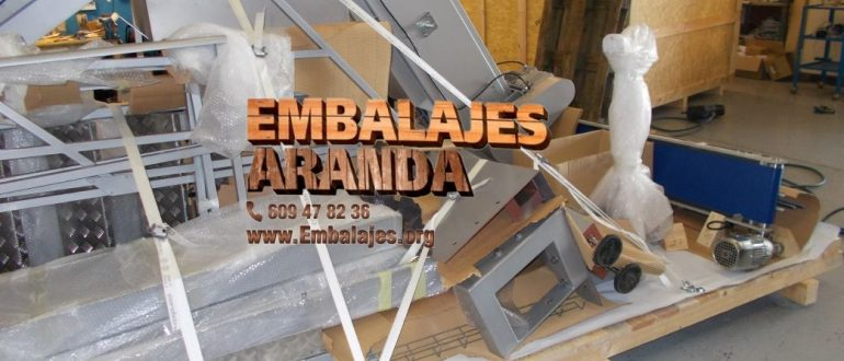 Embalaje industrial Langreo Asturias