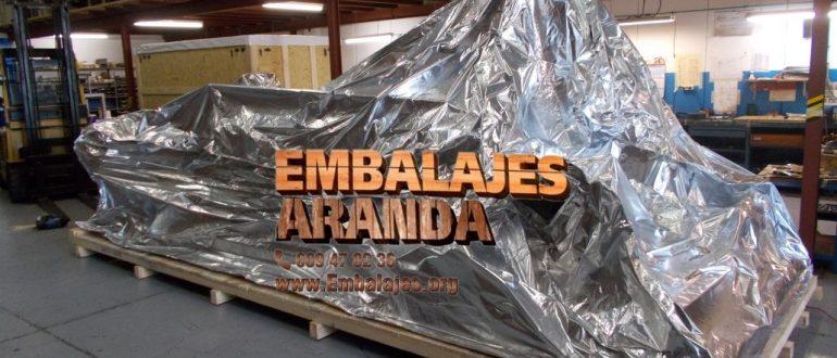 Embalaje industrial A Laracha A Coruña
