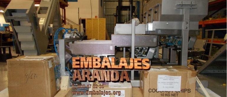 Embalaje industrial Lena Asturias