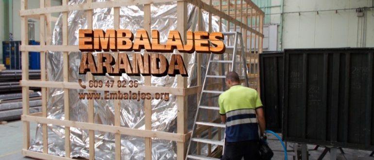Embalaje industrial Les Franqueses del Vallès