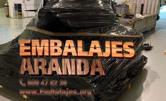 Embalaje industrial Los Alcázares Murcia