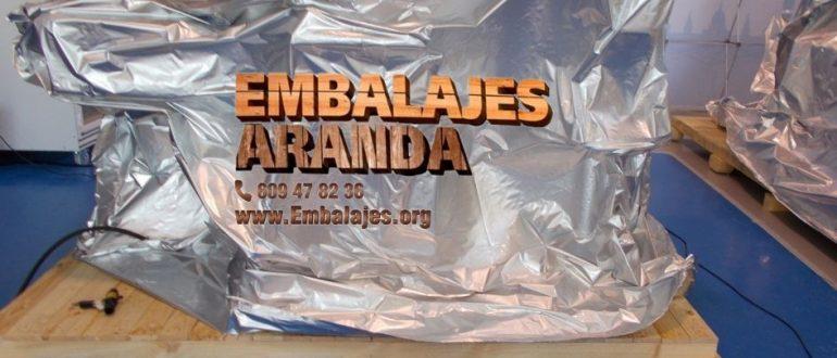 Embalaje industrial Los Villares Jaén