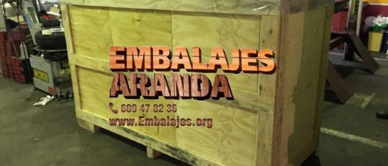 Embalaje industrial Manzanares el Real Madrid