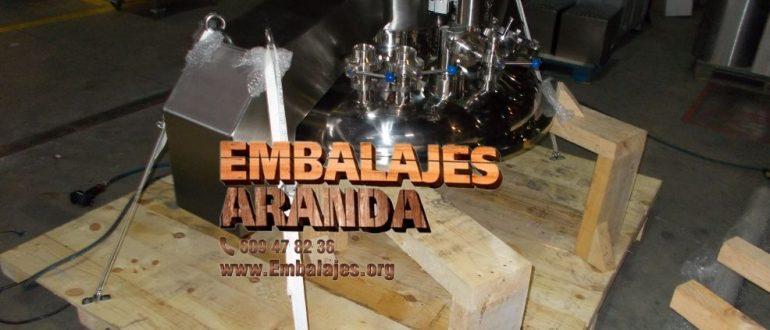 Embalaje industrial Maracena Granada
