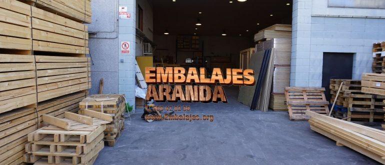 Embalaje industrial María de Huerva Zaragoza