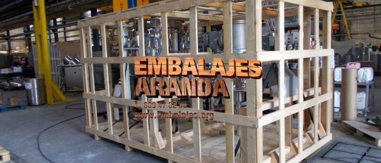 Embalaje industrial Meco Madrid