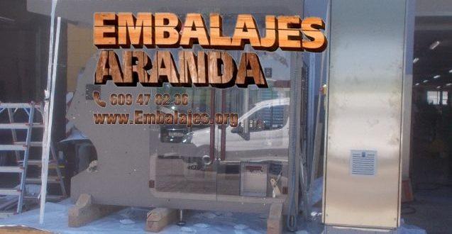 Embalaje industrial Medina de Rioseco Valladolid