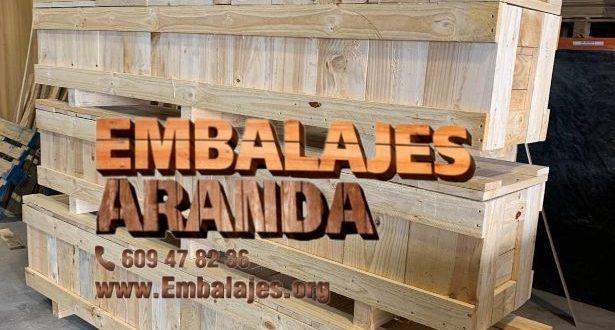 Embalaje industrial Medina del Campo Valladolid