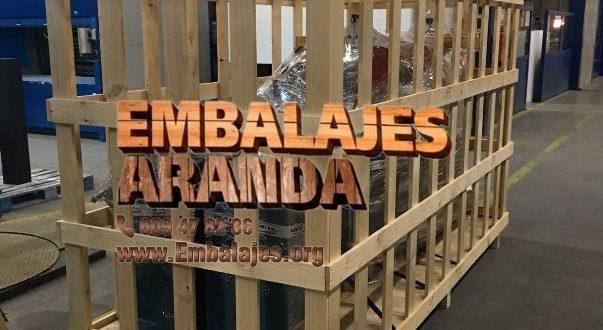 Embalaje industrial Mejorada del Campo