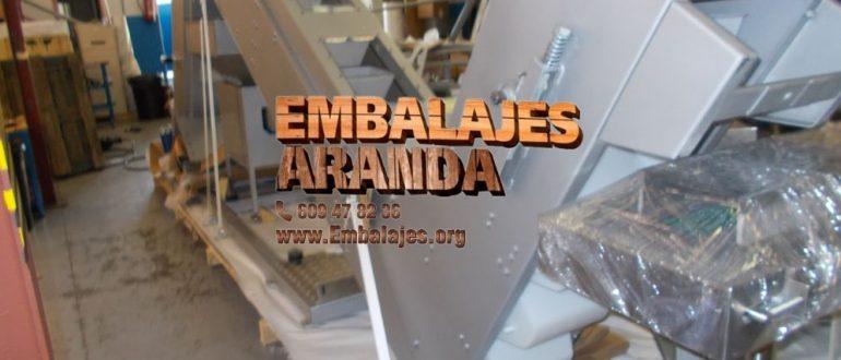 Embalaje industrial Meliana Valencia