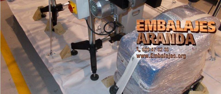 Embalaje industrial Membrilla Ciudad Real