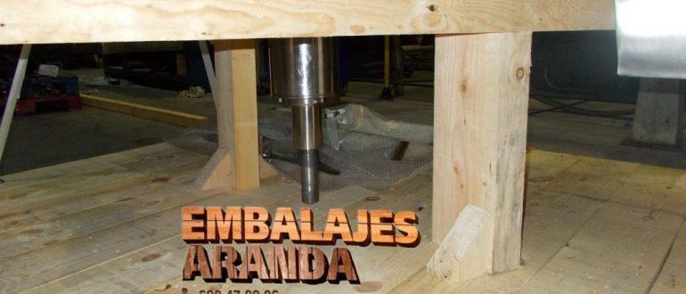 Embalaje industrial Mérida Badajoz