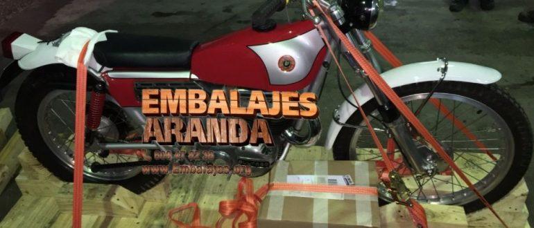 Embalaje industrial Miraflores de la Sierra Madrid