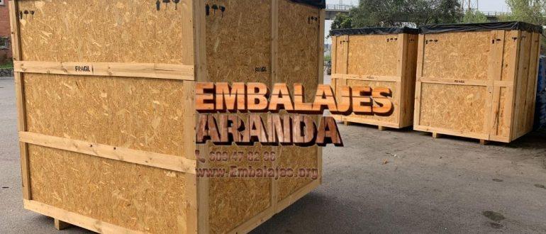 Embalaje industrial Miranda de Ebro