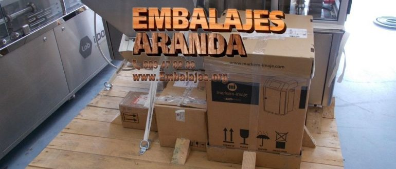 Embalaje industrial Moaña Pontevedra