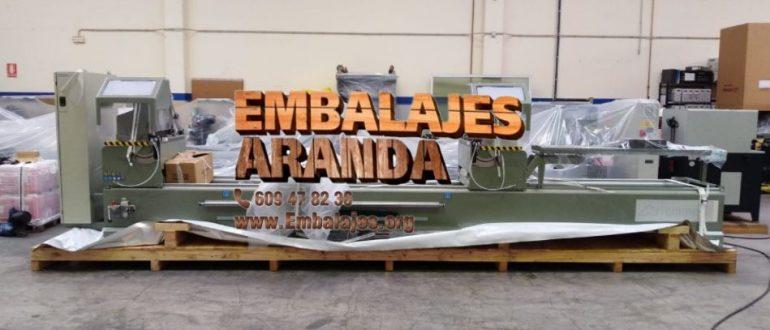 Embalaje industrial Mollina Málaga