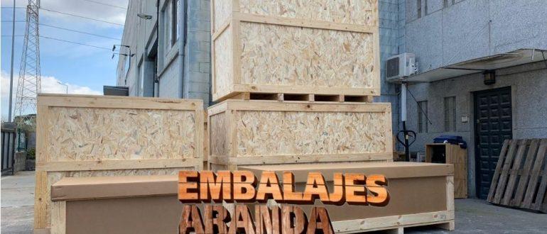 Embalaje industrial Montmeló Barcelona