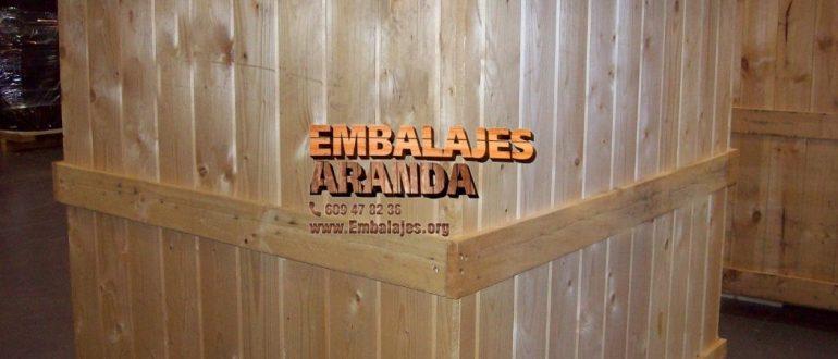Embalaje industrial Morales del Vino Zamora