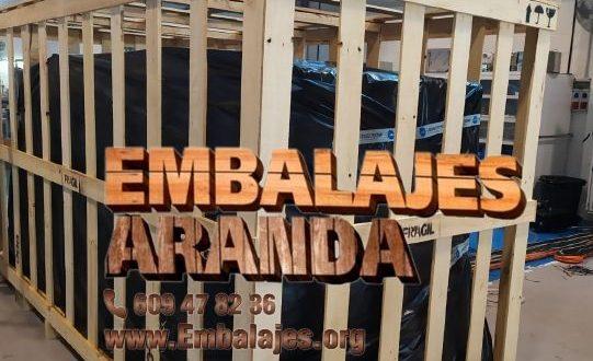 Embalaje industrial Navarcles Barcelona