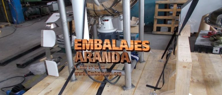 Embalaje industrial O Porriño Pontevedra