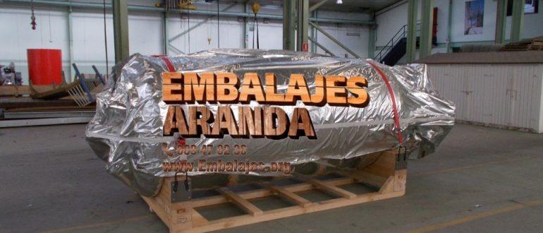 Embalaje industrial Órdenes A Coruña