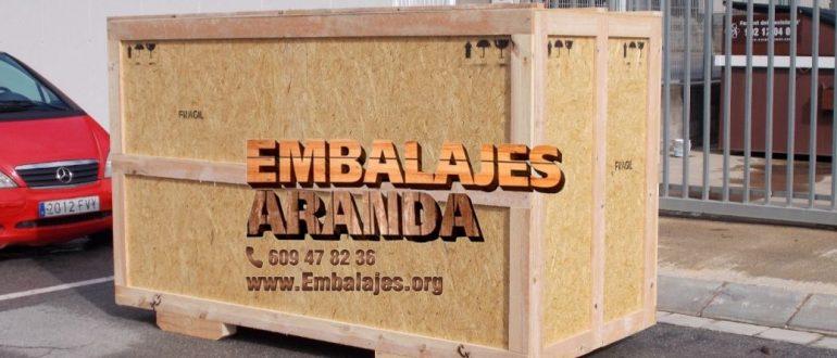 Embalaje industrial Palazuelos de Eresma Segovia