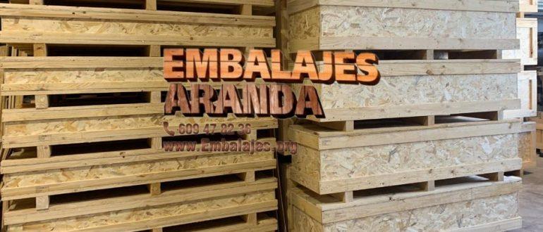 Embalaje industrial Pallejà Barcelona