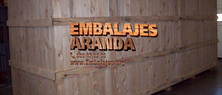 Embalaje industrial Paracuellos de Jarama