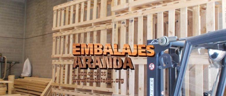 Embalaje industrial Pedrajas de San Esteban Valladolid