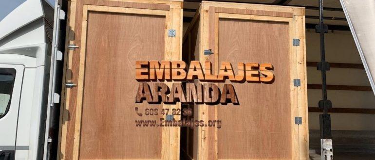 Embalaje industrial Pedrola Zaragoza