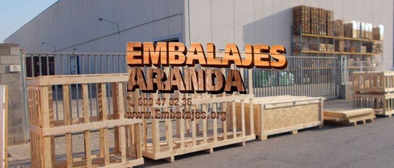Embalaje industrial Peñaranda de Bracamonte Salamanca