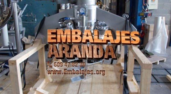 Embalaje industrial Petrer Alacant