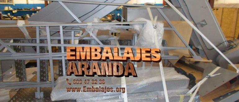 Embalaje industrial Piélagos Cantabria
