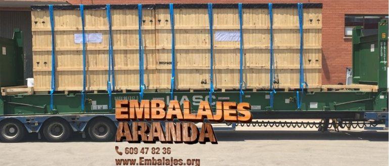 Embalaje industrial Piera Barcelona