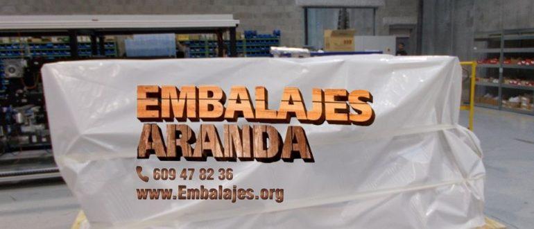 Embalaje industrial As Pontes de García Rodríguez A Coruña
