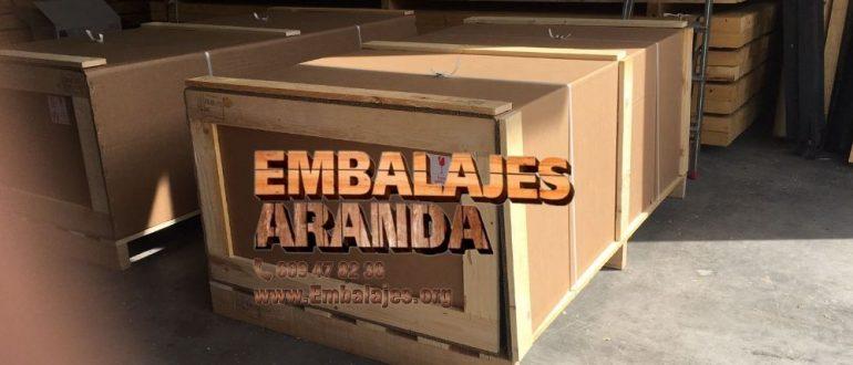 Embalaje industrial Renedo de Esgueva Valladolid