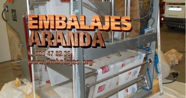 Embalaje industrial Riba-roja de Túria